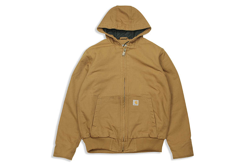 Carhartt WASHED DUCK INSULATED ACTIVE JACKET (104050/BRN:Carhartt BROWN)