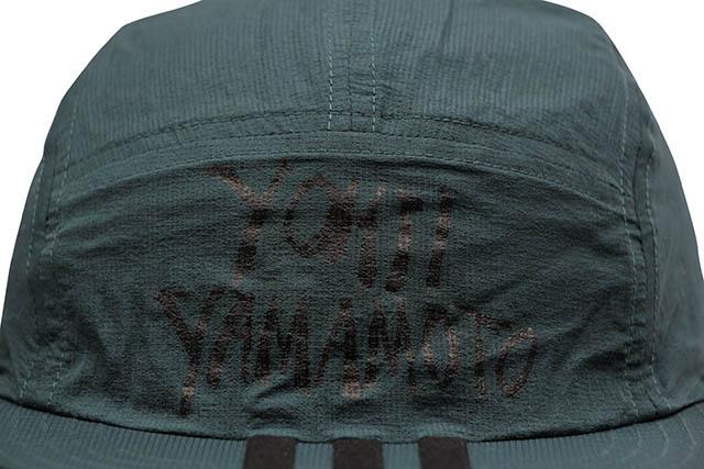 Y-3 REVERSIBLE CAP (DZ9352:BLACK/PETROL GREEN)
