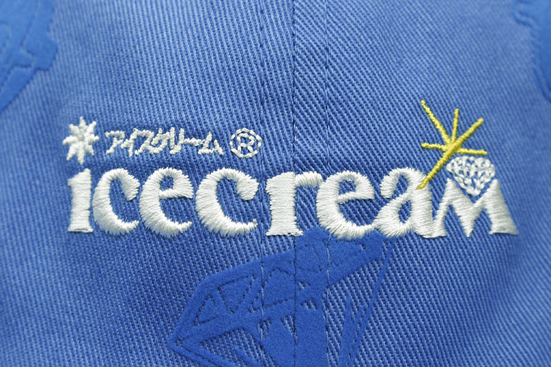 ICECREAM SYRUP POLO HAT (411-4802:STRONG BLUE)