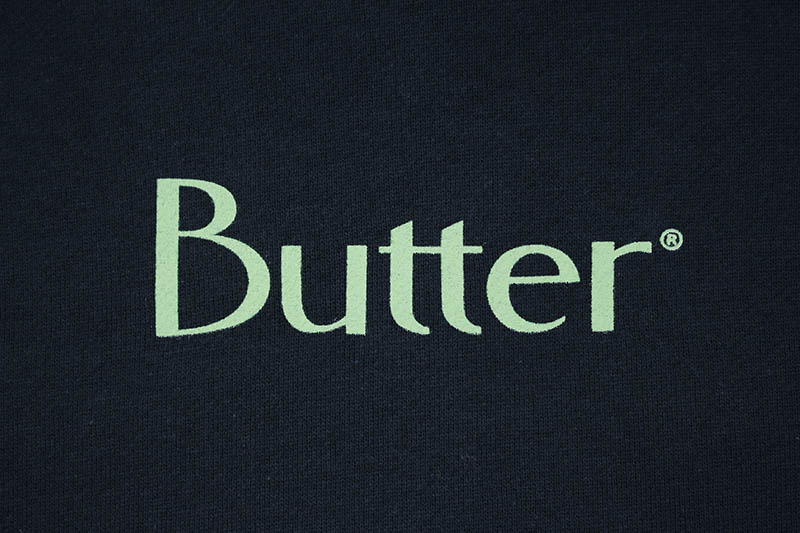 BUTTER GOODS CLASSIC LOGO PULLOVER (SLATE)
