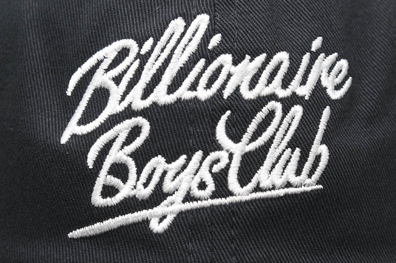BILLIONAIRE BOYS CLUB BB CLUB SCRIPT HAT (811-4809:BLACK)