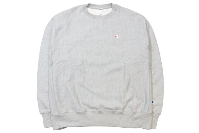 CHAMPION LIFE REVERSE WEAVE CREW (OXFORD GREY)