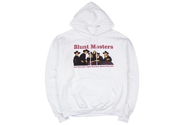 COMMUNITY 54 BLUNT MASTERS HOODY(WHITE)