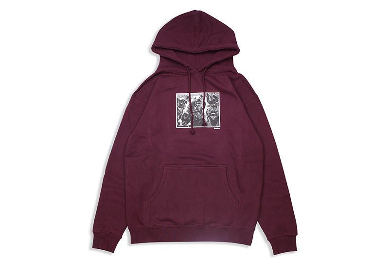 BUTTER GOODS FORGIVE PULLOVER (BURGUNDY)