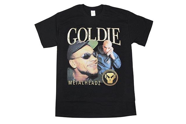 HOMAGE TEES GOLDIE T-SHIRT (BLACK)