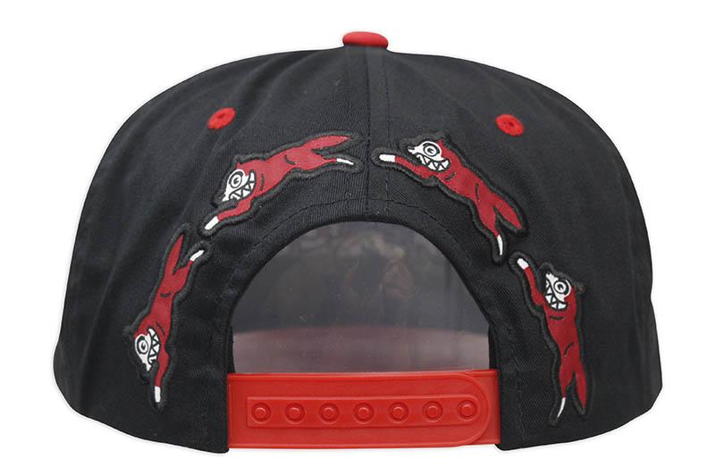 ICECREAM BASKET SNAPBACK HAT (411-3805:BLACK)