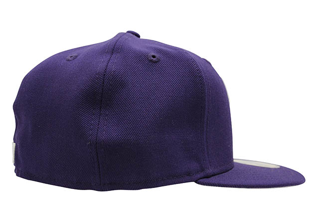 NEW ERA NEW YORK YANKEES 59FIFTY FITTED CAP (MLB BASIC/PURPLE)