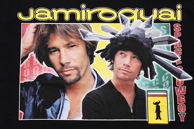 HOMAGE TEES JAMIROQUAI T-SHIRT (BLACK)