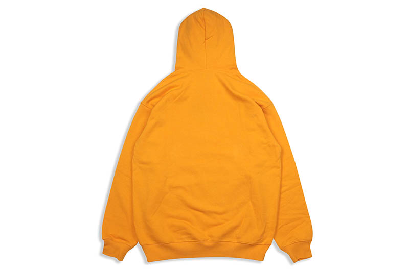 DIME CLASSIC LOGO EMBROIDERED HOODIE (ORANGE)