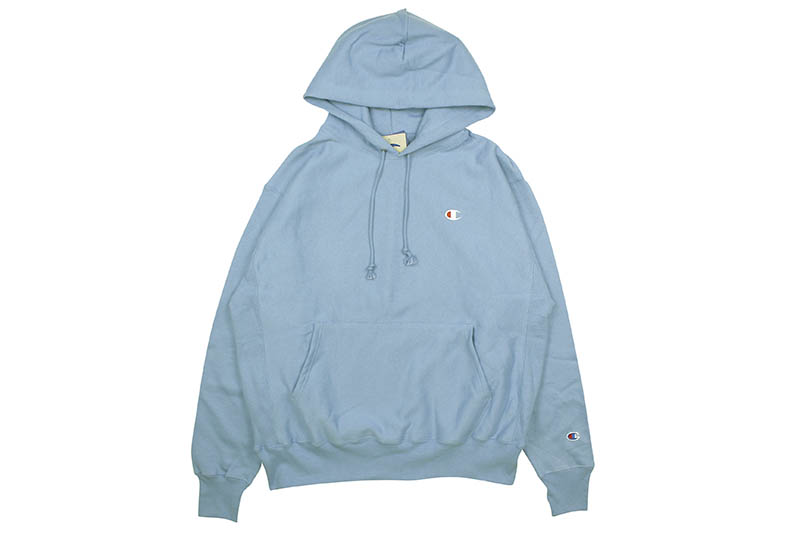 CHAMPION LIFE REVERSE WEAVE PULLOVER HOODIE (FRONTIER BLUE)
