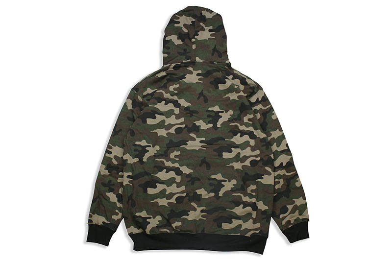 PRO CLUB HEAVYWEIGHT PULLOVER HOODIE (CAMO)