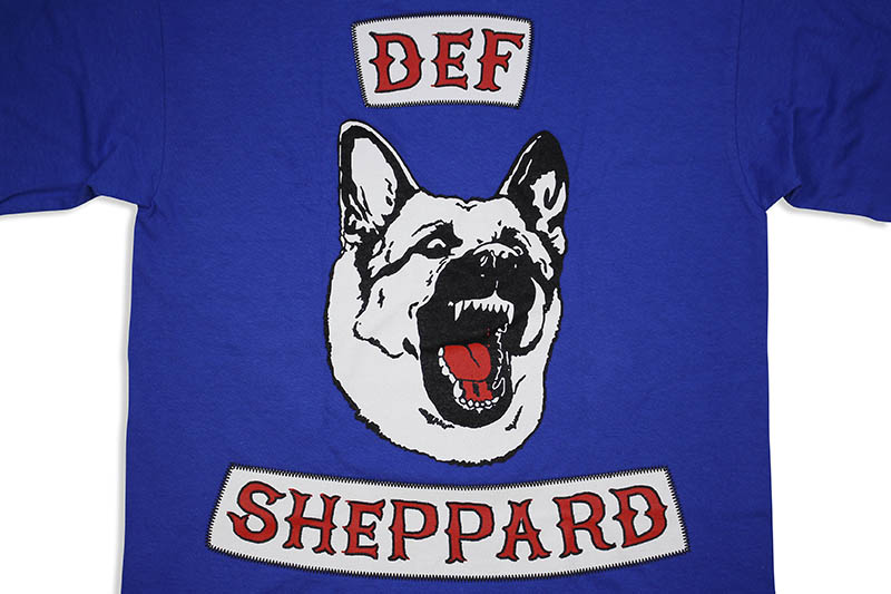 B WOOD DEF SHEPPARD L/S T-SHIRT (ROYAL BLUE)