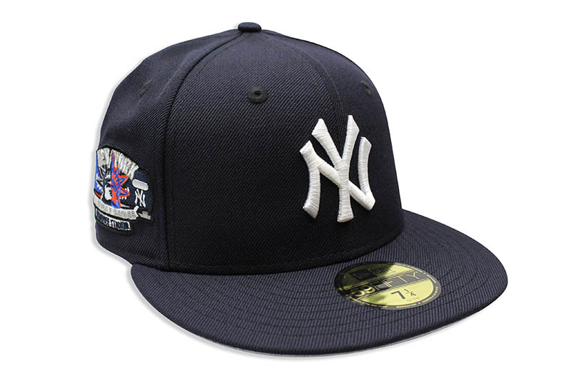 NEW ERA NEW YORK YANKEES 59FIFTY FITTED CAP (SUBWAY SERIES YANKEE STADIUM SIDE PATCH/NAVY)