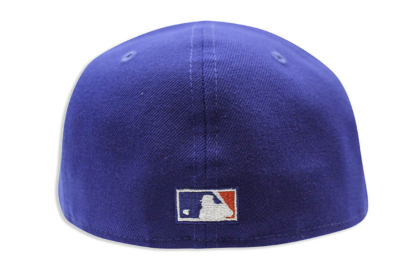 NEW ERA LOS ANGELES DODGERS 59FIFTY FITTED CAP (1958-1998 40TH ANNIVERSARY PATCH/DARK ROYAL)