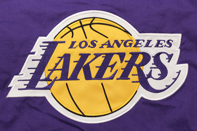 STARTER LOS ANGELES LAKERS HOODED NYLON JACKET (LS030736)
