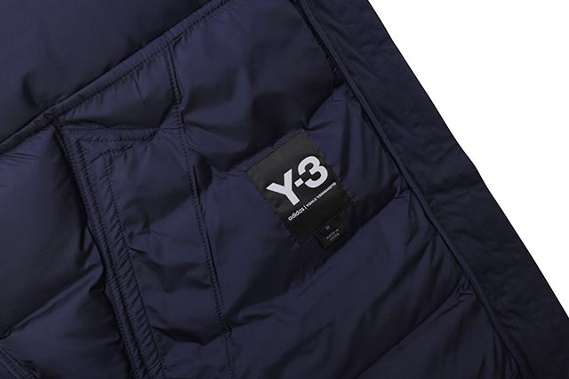 Y-3 SEAMLESS HOODED DOWN JKT(FJ0443:BLUE)