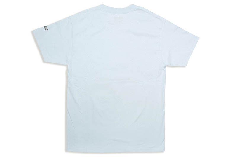 "CLASSIC MATERIAL NY ""CALIFORNIA LOVE/CMLA"" T-SHIRT (POWDER BLUE)"