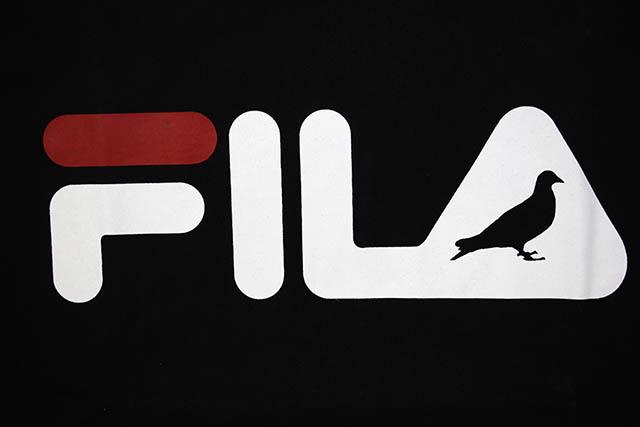 FILA×STAPLE DESIGN T-SHIRTS(BLACK)