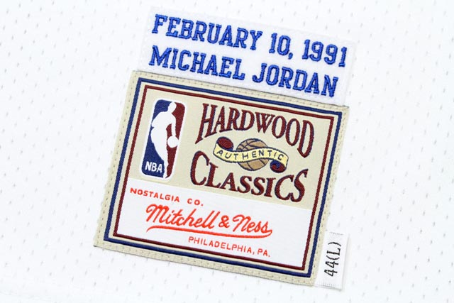 MITCHELL&NESS 1991 AUTHENTIC NBA ALL-STAR GAME JERSEY(23:MICHAEL JORDAN)