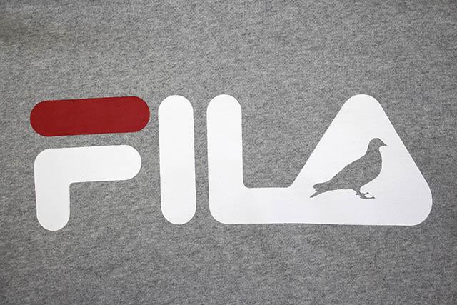 FILA×STAPLE DESIGN HOODY(GREY)