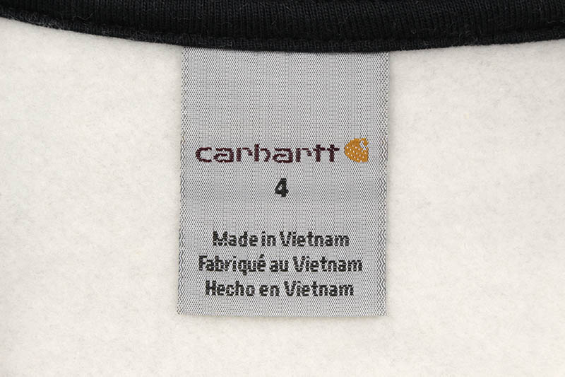 Carhartt LOGO SWEATSHIRT (CA8850 H01/020:GREY HEATHER)