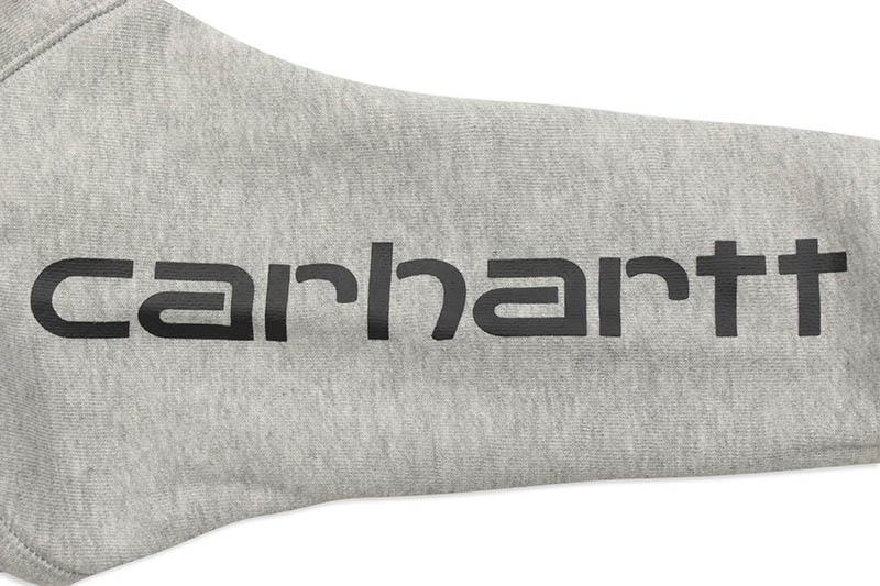 Carhartt LOGO SWEATSHIRT (CA8850 H01/020:GREY HEATHER)