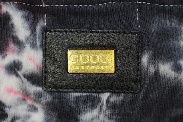 COOGI CUT & SEW TIE DYE HOODY (CG65920:BLACK/RED TYE DYE)