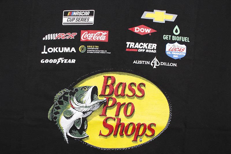 JH Design AUSTIN DILLON BASS PRO SHOPS 2021 NASCAR T-SHIRT (AD0803BP21:BLACK)
