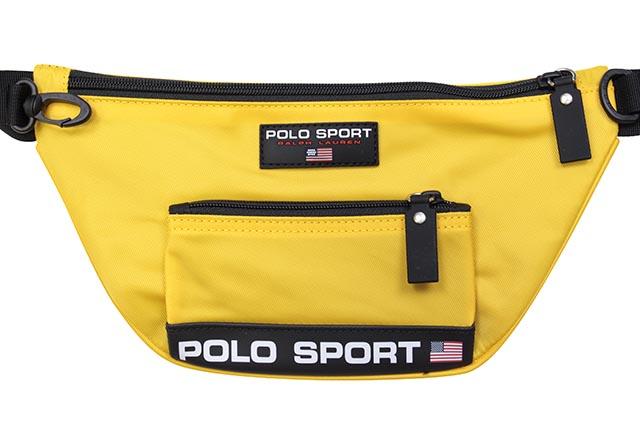 POLO SPORT NYLON WAIST PACK (405749441007:YELLOW)