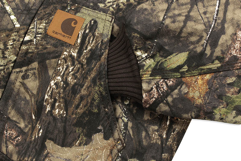 Carhartt FLANNEL QUILT LINED ACTIVE JACKET (CP8529 CR08/219:MOSSY OAK)