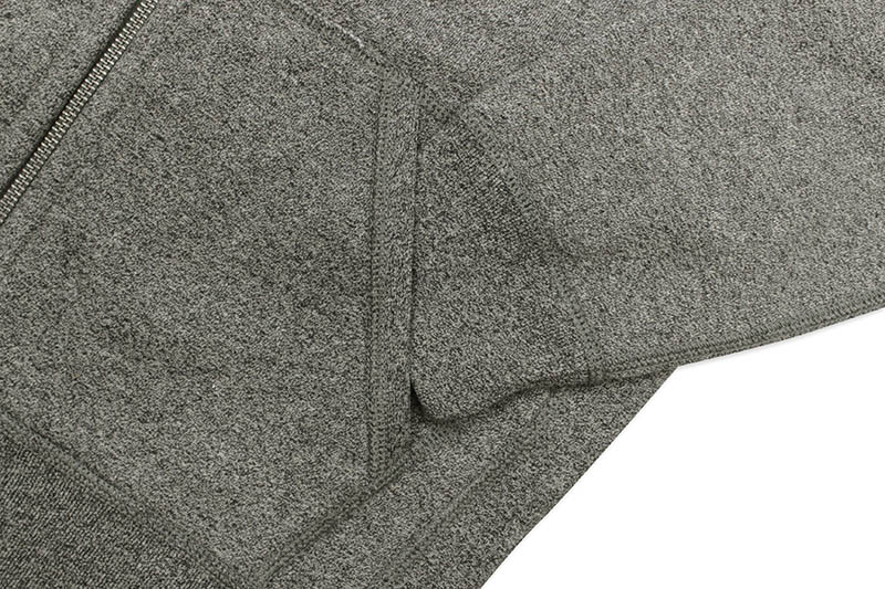 POLO RALPH LAUREN CLASSIC FULL-ZIP FLEECE HOODIE (710548546005:ALASKAN HEATHER)