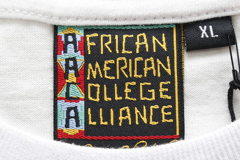 AACA MISKEEN ORIGINALS' AACA CLASSIC COLLABO T-SHIRT (WHITE/GOLD)