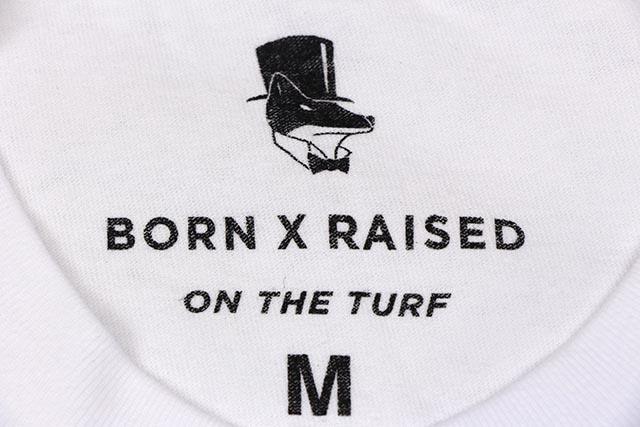 "BORN X RAISED ""SEX VACATION"" T-SHIRTS(WHITE)"