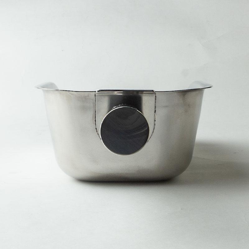 18-8 ステン丸型ハンドル氷スコップ(粉仕様)
