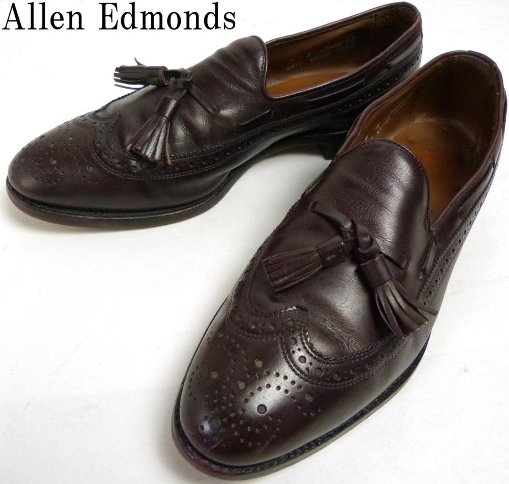 USA製アレンエドモンズ Allen Edmonds Manchester タッセルローファー 9A(25.5-26cm相当)【中古】