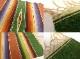 1950-60s ビンテージ メキシカン ラグ サラペ /テーブルクロス/ランチョンマット(ヴィンテージ)【中古】