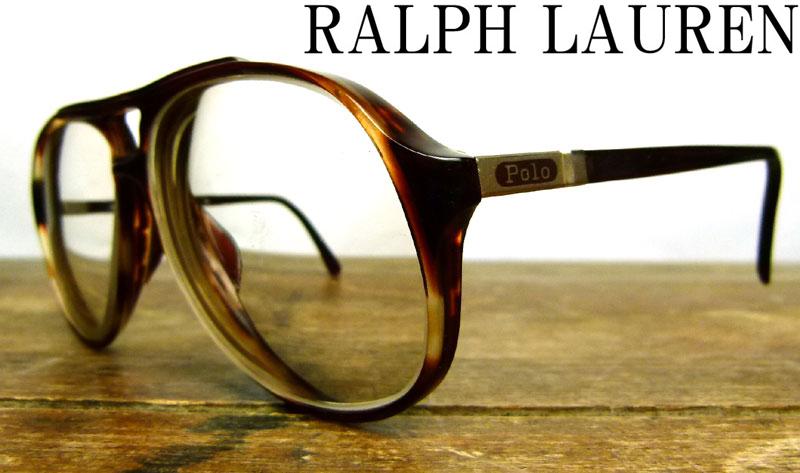 ポロラルフローレン POLO by Ralph Lauren ビンテージ眼鏡 メガネフレーム 【中古】