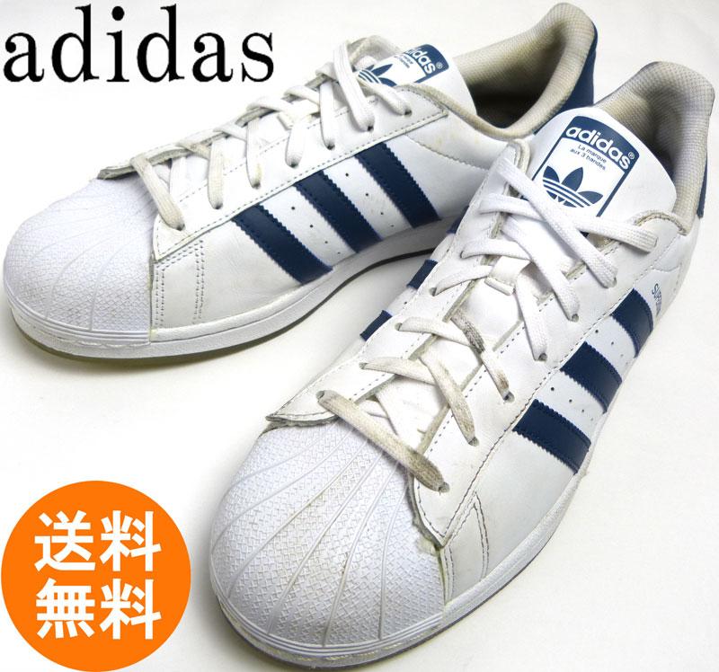 アディダス adidas SUPERSTAR スーパースター スニーカー US12(29cm相当 )( メンズ )【中古】