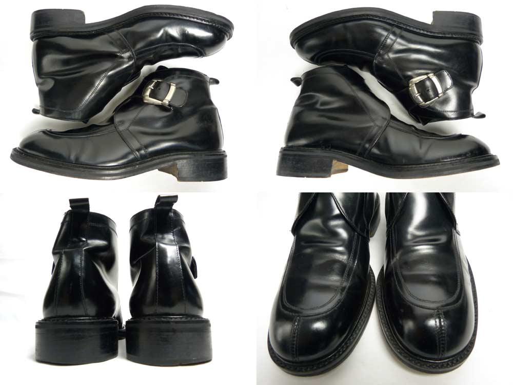 GIORGIO MILANO ジョルジオ モンクストラップブーツ 42(26.5-27cm相当)(メンズ)【中古】