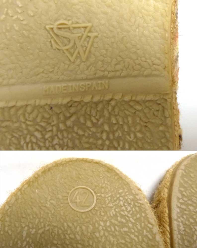 SALVI サルヴィ スペイン製 エスパドリーユ / スリッポン シューズ 42(28cm相当)(メンズ)【中古】