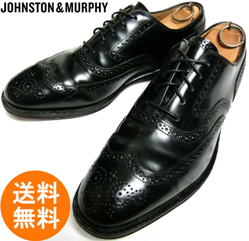 ジョンストン&マーフィー JOHNSTON & MURPHY ウィングチップシューズ 8 1/2D/B(26cm相当) ( メンズ )【中古】