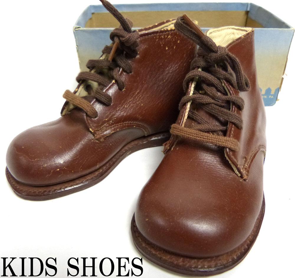 キッズ用 1950−60s prowell shoes ブーツ 4(12−12.5cm相当)(キッズ/ベイビー)(デッドストック)【中古】