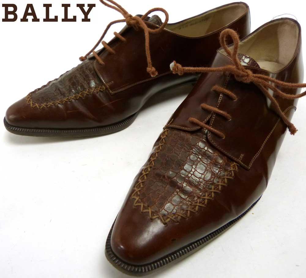 イタリア製 バリー BALLY レザーシューズ  8 1/2M(25−25.5cm相当)(レディース)【中古】