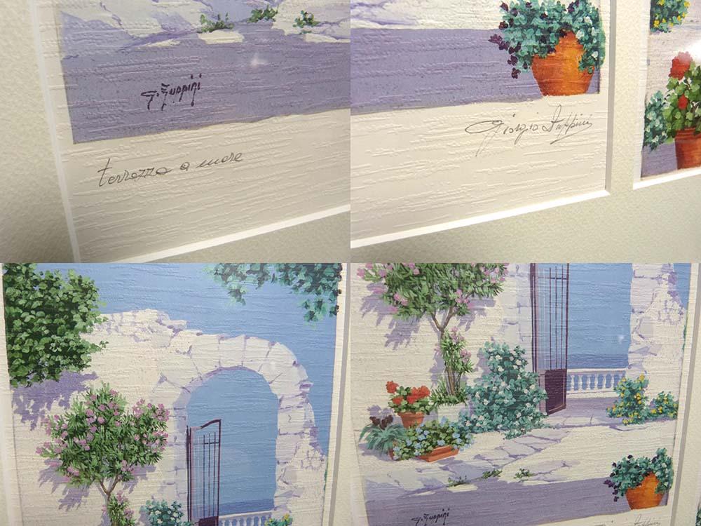 Giorgio Fuppigi ポスター 直筆サイン入り 額装/J‐ONE FRAME【中古】