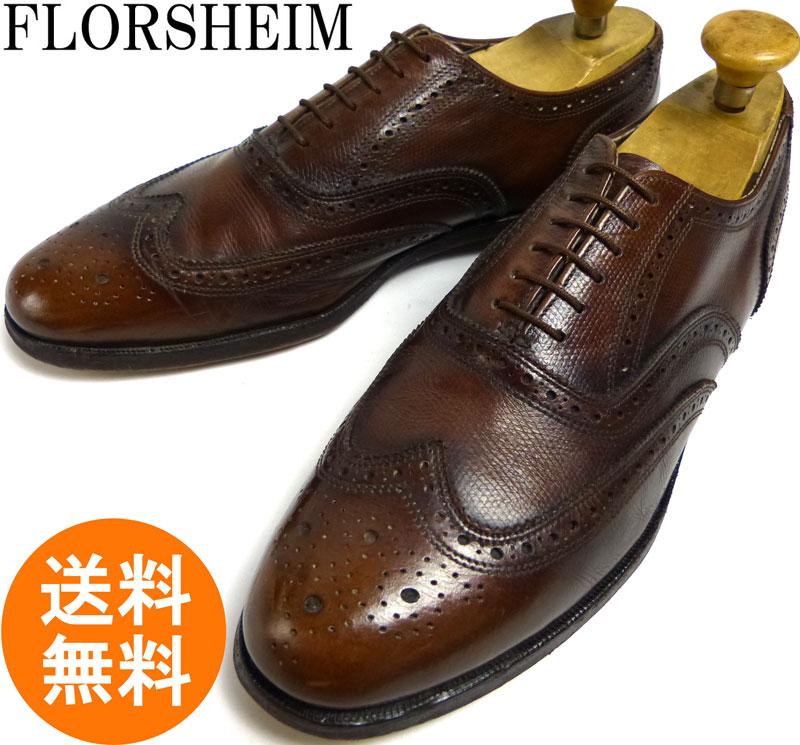フローシャイム FLORSHEIM ウィングチップシューズ11D(29cm相当)( メンズ )(紳士靴)【中古】
