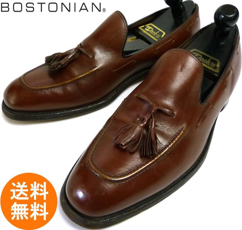 1970-80s ボストニアン BOSTONIAN WINDSOR 旧ロゴ タッセルローファー 10B/AA(27~27.5cm相当)【中古】