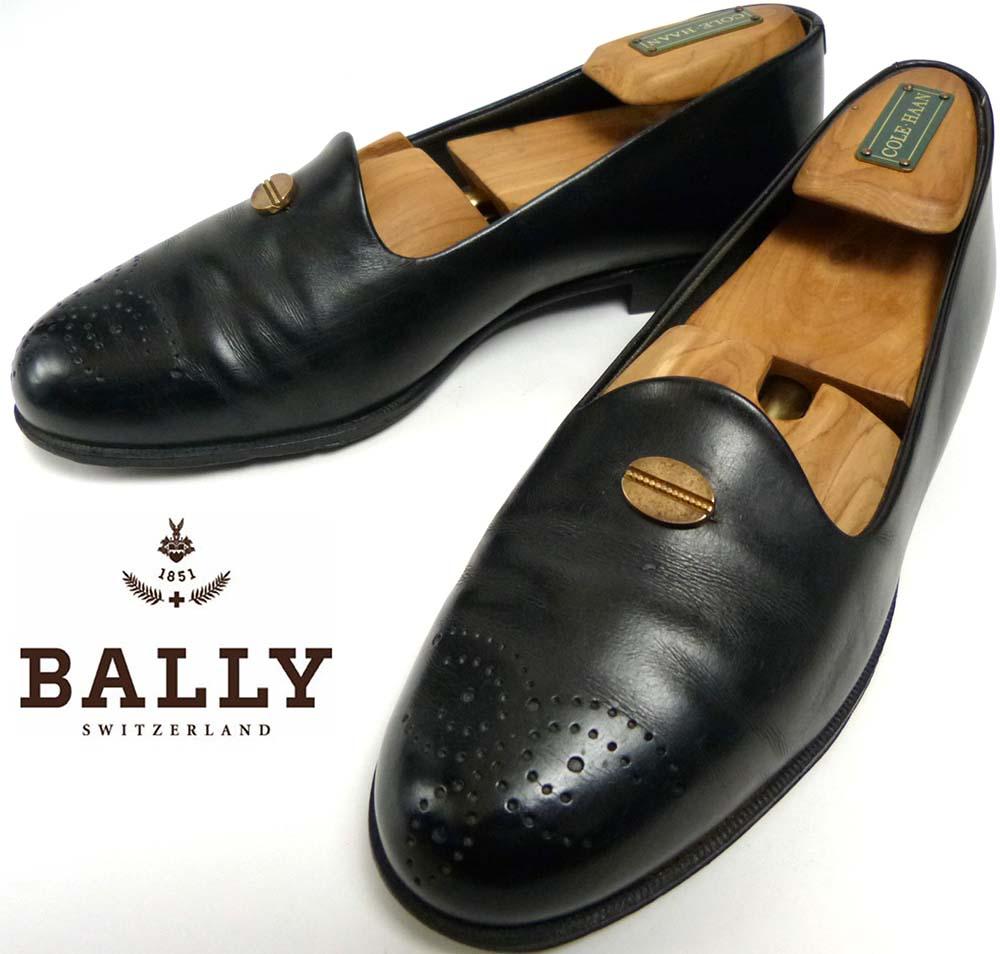 スイス製 BALLY バリー ローファー 7 1/2D(25.5cm相当)(メンズ)【中古】