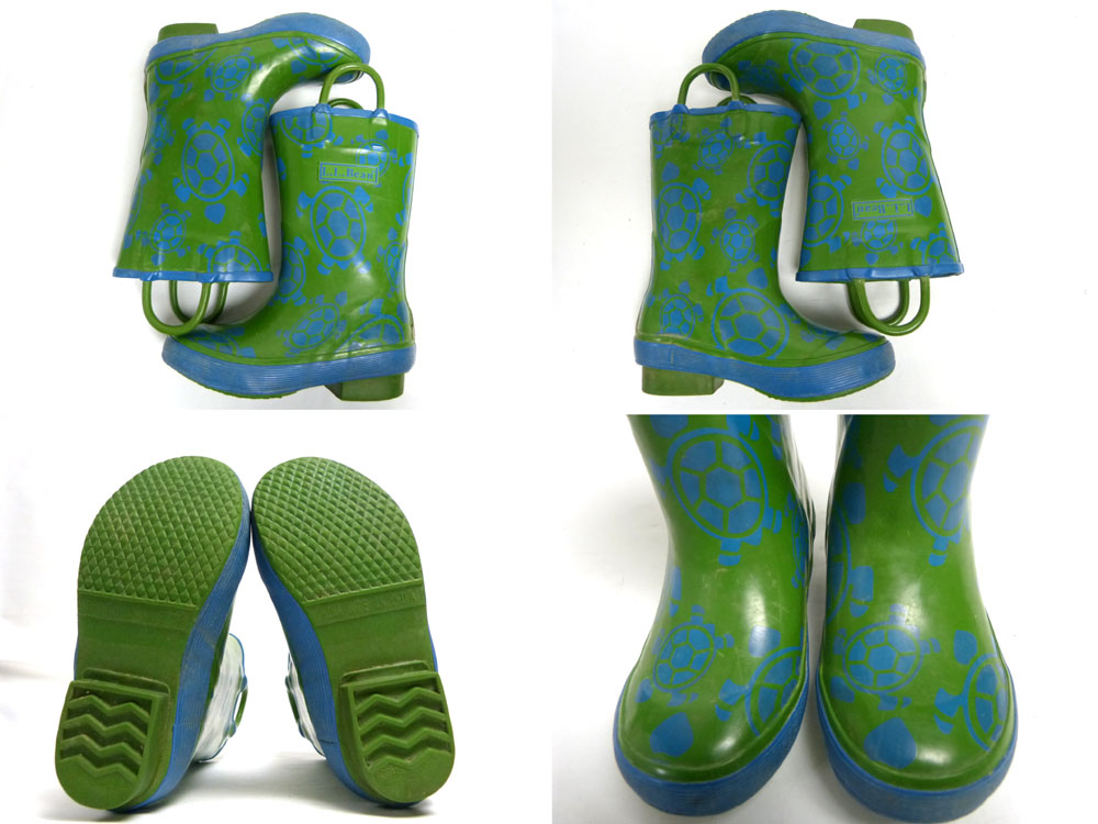 キッズ用 L.L.Bean エルエルビーン レインブーツ / 長靴 / パドル・ストンパー9(15.5cm相当)(キッズ)【中古】