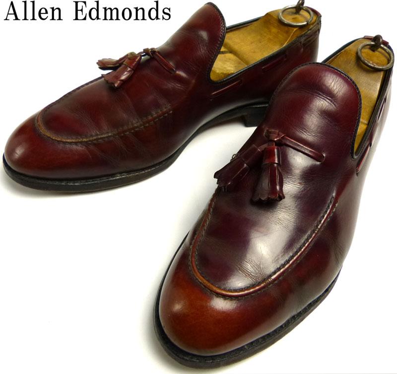 【訳あり】アレンエドモンズ Allen Edmonds Saratoga タッセルローファー 10 D(28cm相当)(メンズ)【中古】