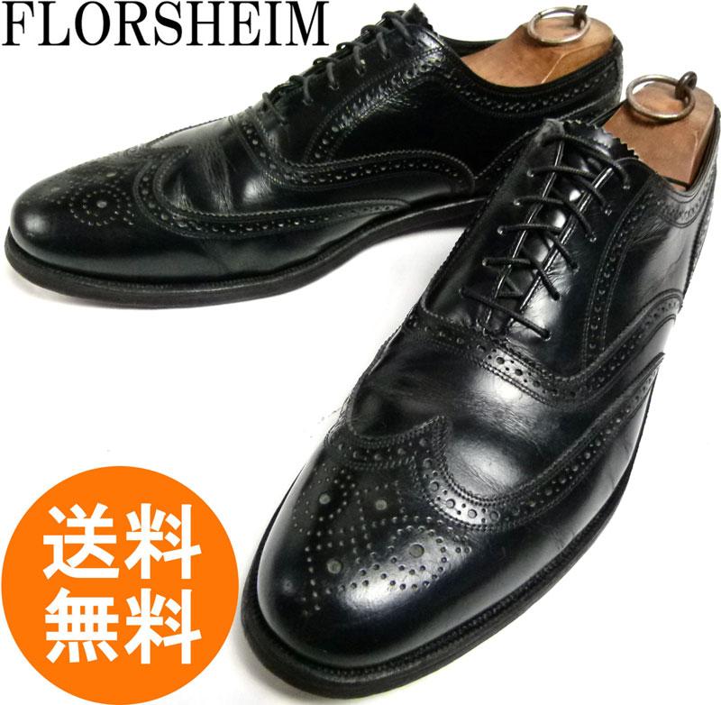 フローシャイム FLORSHEIM imperial インペリアル ウィングチップシューズ 10 1/2C(28〜28.5cm相当)( メンズ )【送料無料】【中古】